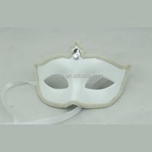 In stock Pure handmade party city masquerade venetian masks wholesale white italian venetian mask decorative