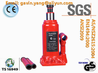 Single Valve 50 Ton Hydraulic Bottle Jack approved by GS, CE, SGS, TS16949, CCC, ISO9001