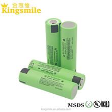 high discharge Panason NCR 18650PF 2900mah 10A 18650B 3400mah 3.7V 3.6V li ion battery cells