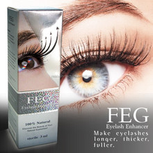 No side effect 100% natural grow lashes 2mm length