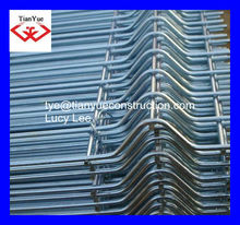 TianYue HONEST FACTORY sell reinforced galvanized, black & PVC coated welded wire mesh ( galvanized, PVC coated, black wire)
