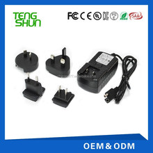 8.4v 1.5a rechargeable battery pack dc li-ion eu wall charger