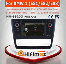 HIFIMAX Car Radio for BMW 1 Series E81 E82 E88 Radio GPS DVD Navigation (Automatic Air conditioner)