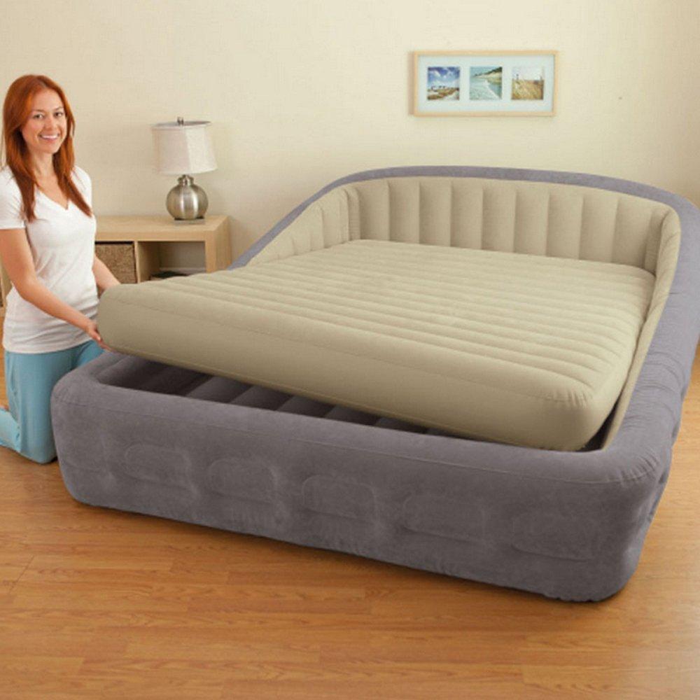 Top cama venta masaje con armazón de la cama inflable cómodo ...