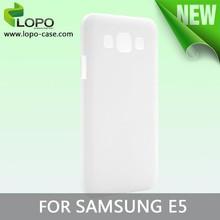 3D blank sublimation mobile phone case for Samsung E7 Matte finish