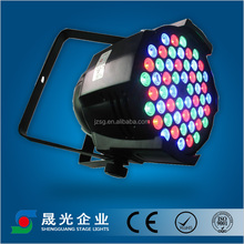 Cheap led par light 54*3W cast aluminium high power LED par64/led dmx par64/lights led