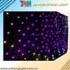 Hot Sell LED RGB star curtain cloth for christmas