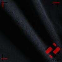 korea formal black composite satin chiffon fabric for hijab abaya