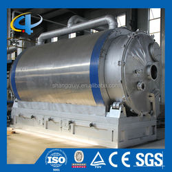 Used Rubber Tyre Plastic Extraction Oil Pyrolysis Machine
