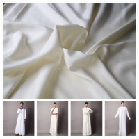 100% pure waste silk Bosky fabric with protein fiber