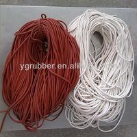 Elastic Silicone Extrusion Rubber Cord