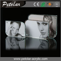 new style acrylic photofunia photo frame magnetic square acrylic photo frame,thickness 24MM