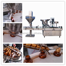 SS Screw Filling and Capping Machine with Bottle Can Barrel for Power 0086 371 65866393