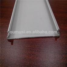 White ceiling decoration, C shaped aluminum strip false ceiling, decorative wooden ceilings