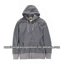 Thick Men's Hoodies With Hood In Simple Style