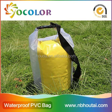 2015 High quality China Manufacturer Fashion Sports Bag Waterproof Camping Dry Bag for outdoor sports