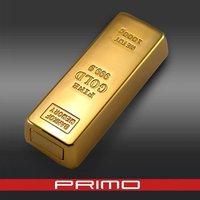 Golden USB electronic Cigarette Lighter E-lighter Coil lighter,with memory function lighters
