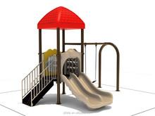 2015 New Desgin Kids Outdoor Playground Outdoor With Garden Swing