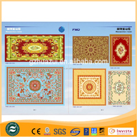 Handmade Wool Wall-To-Wall Wool Carpet For Meeting Room With Fancy Design