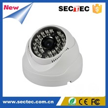 Low Cost 30fps Real Time 720P Dome IP Camera with P2P ONVIF