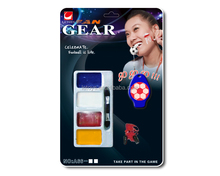 2016 Euro Cup footabll fans cheering whistle and face paint with EN71/OEM