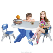 kids plastic table children table and chairs sets