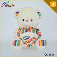 soft stuffed plush bear toy sale to oversea Stuffed Plush bear custom soft toy made of pp cotton