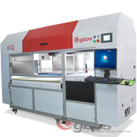 Flexible working table and adjustable working size high speed marking machinery for leather