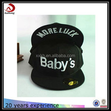 children baby flat brim fitted solid snapback cap/hat