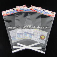 Japanese Games Plastic Resealable Header Card sleeves