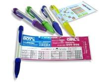 Pens Promotional fancy trendy ballpoint pen plastic logo advertising funny pen with heat transfer