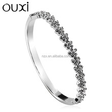 2015 OUXI fashionable girls 925 silver jewellery made with Austria crystal 50051-1