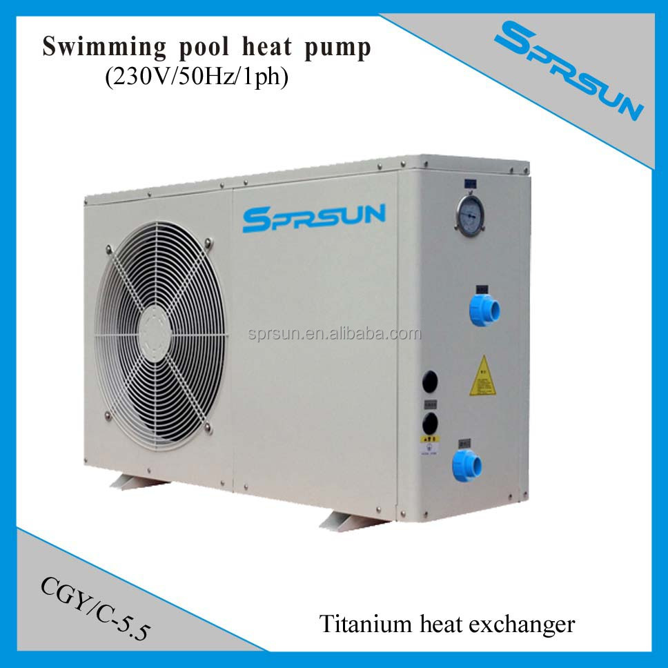 Swimming Pool Heaters Product : Swimming pool heater heat pump titanium exchanger