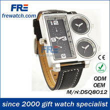 2014 hot sell grotesque men fancy time zones watch best gifts