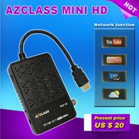 Original AZCLASS MINI HD mini full hd dvb-s2 satellite receiver with IKS Nagra 3 CCcam For South America Chile Brazil Colombia