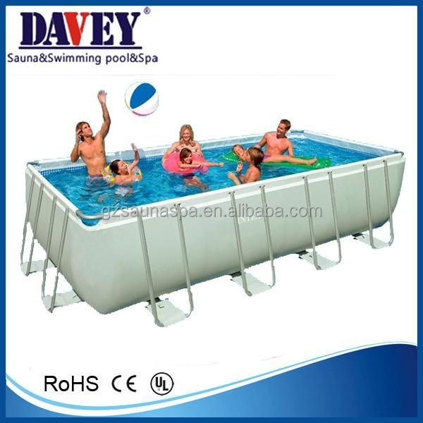 Superior Rectangular Intex Swimming Pool With Fitter Swimming Pool For Fun Buy Swimming Pool