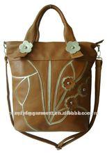 2012 hot big flower handbags
