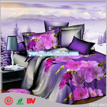 new design king/queen size 3d stitching bed sheet wholesale