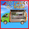 Customized Made Fast Food Vending Cart Electric Mobile Food Truck