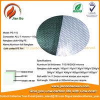 Aluminum foil laminated fiberglass pre insulated duct