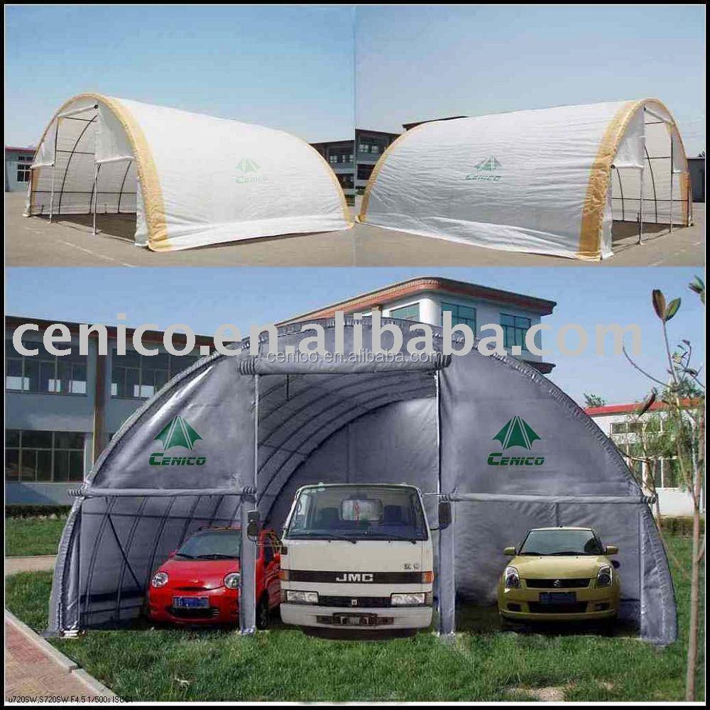 2 Car Garage Shelter : Car garage shelter tent port canopy storage
