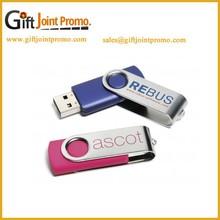 Promotional Cheap Swivel USB Flash Memory Stick, 2.0 USB Flash Drive