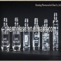 Accept customer's logol printed bottles