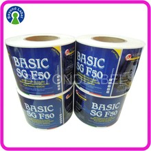 Custom Waterproof Adhesive Logo Product Packaging Label,Sticker Labels For Bottles.