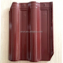 China red clay roof tiles price/special design and cheap bent roofing tile