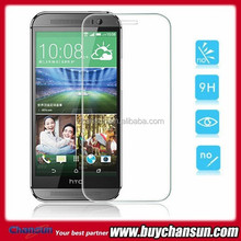 High quality tempered glass film for HTC one M8