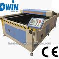 dw1325 180w co2 metal laser máquina de corte para moldura