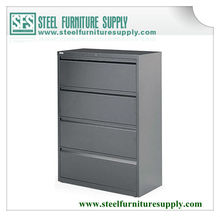 High quality steel lateral four drawers file cabinet