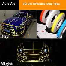Reflective Strips Luminous Tape Decal Vinyl Film 3M Car Reflective Sticker Tape