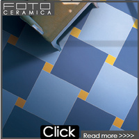 2015 hot sale dark blue tile glazed porcelain slate floor tile